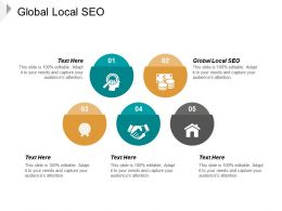 Global Local SEO Ppt Powerpoint Presentation Infographic Template Design Ideas Cpb