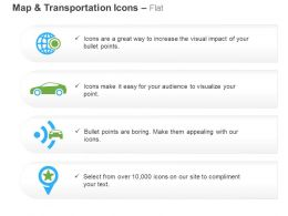 Global Location Car Gps Location Search Ppt Icons Graphics