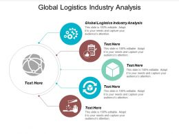 Global Logistics Industry Analysis Ppt Powerpoint Presentation Portfolio Introduction Cpb