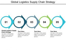 Global Logistics Supply Chain Strategy Ppt Powerpoint Presentation Picture Cpb
