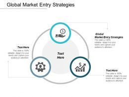 Global Market Entry Strategies Ppt Powerpoint Presentation Gallery Background Image Cpb