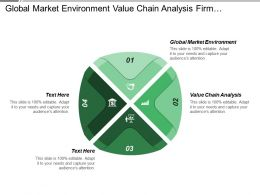 Global Market Environment Value Chain Analysis Firm Infrastructure