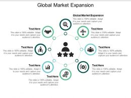 Global Market Expansion Ppt Powerpoint Presentation Model Cpb