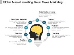 Global Market Investing Retail Sales Marketing Online Marketing Analytics Cpb