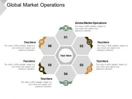 Global Market Operations Ppt Powerpoint Presentation Gallery Designs Cpb