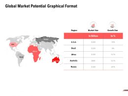 Global Market Potential Graphical Format Process Planning Ppt Powerpoint Presentation Professional