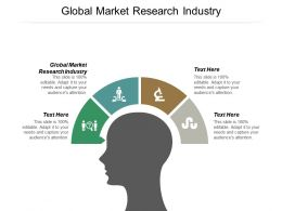 Global Market Research Industry Ppt Powerpoint Presentation Summary Graphics Cpb