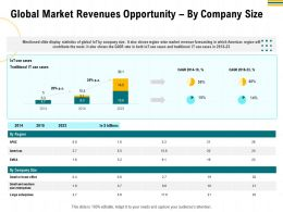 Global Market Revenues Opportunity By Company Size Wise Ppt Powerpoint Presentation Ideas