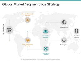 Global Market Segmentation Strategy Concentrated Ppt Powerpoint Presentation Images