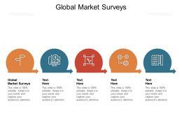 Global Market Surveys Ppt Powerpoint Presentation File Graphics Pictures Cpb