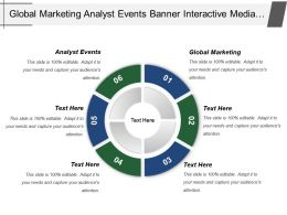 Global Marketing Analyst Events Banner Interactive Media Campaigns