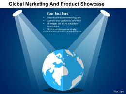 Global Marketing And Product Showcase Flat Powerpoint Design