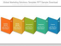 Global Marketing Solutions Template Ppt Sample Download
