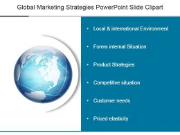 Global Marketing Strategies Powerpoint Slide Clipart