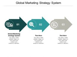Global Marketing Strategy System Ppt Powerpoint Presentation Summary Layout Cpb