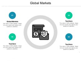 Global Markets Ppt Powerpoint Presentation Ideas Influencers Cpb