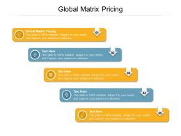 Global Matrix Pricing Ppt Powerpoint Presentation Styles Slide Portrait Cpb