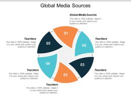 Global Media Sources Ppt Powerpoint Presentation Designs Download Cpb