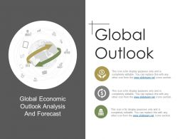 Global Outlook Ppt Background