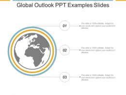 Global Outlook Ppt Examples Slides