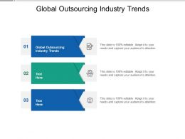 Global Outsourcing Industry Trends Ppt Powerpoint Presentation Infographic Template Format Ideas Cpb