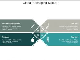 Global Packaging Market Ppt Powerpoint Presentation File Example Topics Cpb