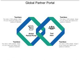 Global Partner Portal Ppt Powerpoint Presentation Slides Tips Cpb