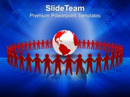 Global Peace And Unity PowerPoint Templates PPT Themes And Graphics 0513
