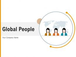 Global People Corporate Network Communicating Through Internet Illustrating