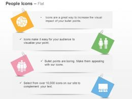 Global People Gender Sign Business Team Ppt Icons Graphics
