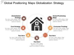 Global Positioning Maps Globalization Strategy Consumer Tracking Cost Strategy Cpb