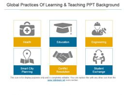 Global Practices Of Learning And Teaching Ppt Background