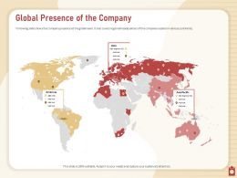 Global Presence Of The Company ABC Regional Powerpoint Presentation Tips