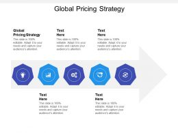 Global Pricing Strategy Ppt Powerpoint Presentation Summary Good Cpb