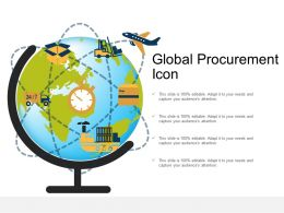 Global Procurement Icon
