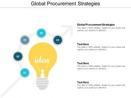 Global Procurement Strategies Ppt Powerpoint Presentation File Graphics Example Cpb
