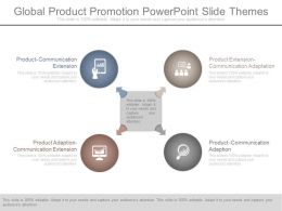 Global Product Promotion Powerpoint Slide Themes