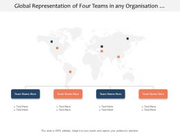 Global Representation Of Four Teams In Any Organisation Structure