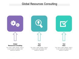 Global Resources Consulting Ppt Powerpoint Presentation Outline Guide Cpb