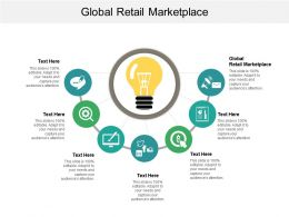 Global Retail Marketplace Ppt Powerpoint Presentation File Aids Cpb
