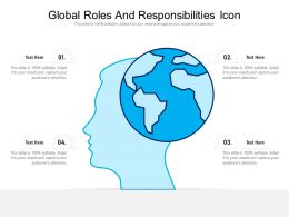 Global Roles And Responsibilities Icon
