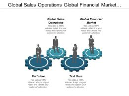 Global Sales Operations Global Financial Market Management Improvement Cpb