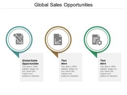 Global Sales Opportunities Ppt Powerpoint Presentation Icon Rules Cpb
