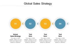 Global Sales Strategy Ppt Powerpoint Presentation Infographic Template Slide Download Cpb