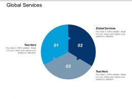 Global Services Ppt Powerpoint Presentation Gallery Graphic Images Cpb