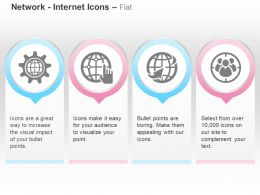 Global Settings Pointer World Target Audience Ppt Icons Graphics