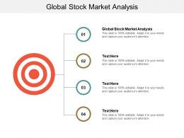 Global Stock Market Analysis Ppt Powerpoint Presentation Gallery Themes Cpb