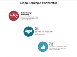 Global Strategic Partnership Ppt Powerpoint Presentation Layouts Graphics Cpb