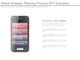 Global Strategic Planning Process Ppt Examples