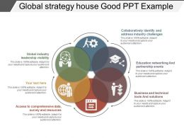 Global Strategy House Good Ppt Example
